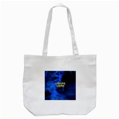 Wake&vape Blue Smoke  Tote Bag (White)