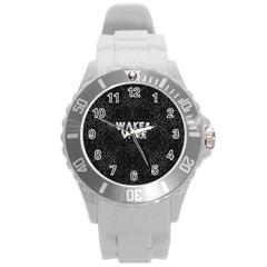 Wake&vape Leopard  Plastic Sport Watch (large)