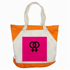 Girl Accent Tote Bag