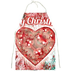 Vintage Colorful Merry Christmas Design Apron