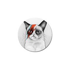 Grumpy Bowie Golf Ball Marker 4 Pack