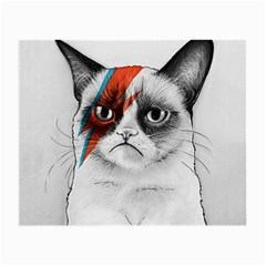 Grumpy Bowie Glasses Cloth (Small, Two Sided)