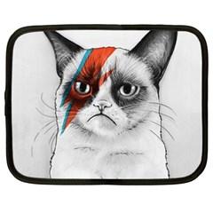 Grumpy Bowie Netbook Sleeve (xxl)