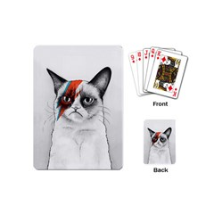 Grumpy Bowie Playing Cards (mini)