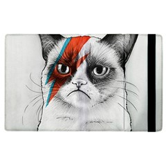 Grumpy Bowie Apple Ipad 3/4 Flip Case