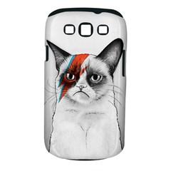 Grumpy Bowie Samsung Galaxy S III Classic Hardshell Case (PC+Silicone)