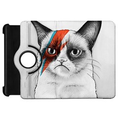 Grumpy Bowie Kindle Fire Hd Flip 360 Case