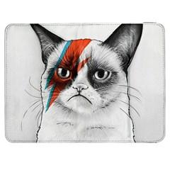 Grumpy Bowie Samsung Galaxy Tab 7  P1000 Flip Case