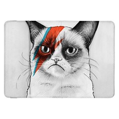 Grumpy Bowie Samsung Galaxy Tab 8.9  P7300 Flip Case