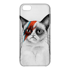 Grumpy Bowie Apple iPhone 5C Hardshell Case