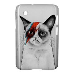 Grumpy Bowie Samsung Galaxy Tab 2 (7 ) P3100 Hardshell Case
