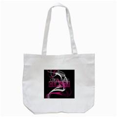 Classy Chics Vape Pink Smoke  Tote Bag (White)