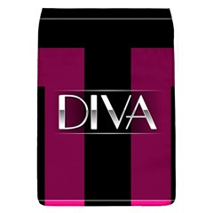 Pink Diva  Removable Flap Cover (large)