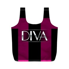 Pink Diva  Reusable Bag (M)