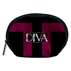 Pink Diva  Accessory Pouch (Medium)