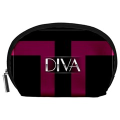 Pink Diva  Accessory Pouch (large)