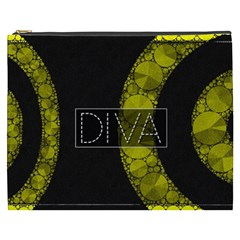 Diva Bling  Cosmetic Bag (XXXL)