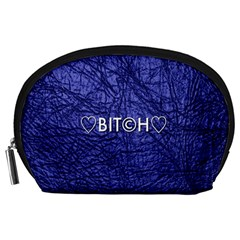 Blue Bit?h Accessory Pouch (Large)