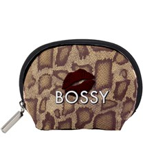 Bossy Snake Texture  Accessory Pouch (Small)