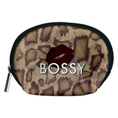 Bossy Snake Texture  Accessory Pouch (Medium)