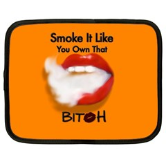 Vape Mouth Smoke Own That Netbook Sleeve (large)
