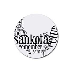 Sankofashirt Drink Coasters 4 Pack (round)