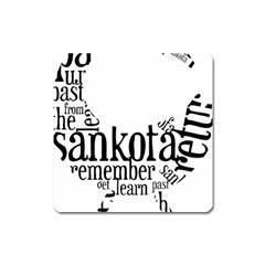 Sankofashirt Magnet (square)