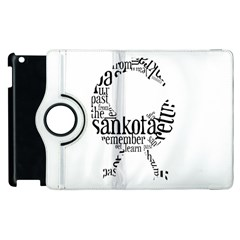 Sankofashirt Apple iPad 2 Flip 360 Case