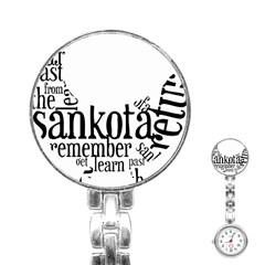 Sankofashirt Stainless Steel Nurses Watch