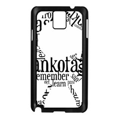Sankofashirt Samsung Galaxy Note 3 N9005 Case (Black)