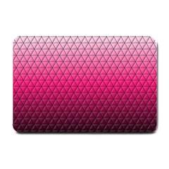 Pink Gradient Mosaic Small Door Mat