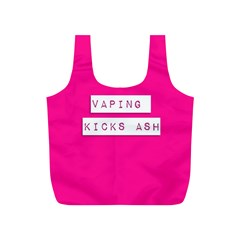 Vaping Kicks Ash Pink  Reusable Bag (S)