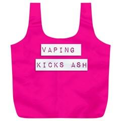Vaping Kicks Ash Pink  Reusable Bag (XL)