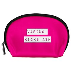 Vaping Kicks Ash Pink  Accessory Pouch (Large)