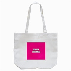 Vaping Kicks Ash Pink  Tote Bag (white)