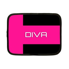 Diva Hot Pink Netbook Sleeve (small)