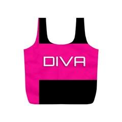 Diva Hot Pink Reusable Bag (s)