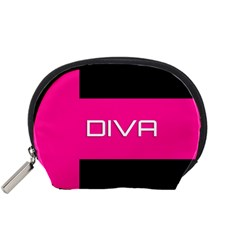 Diva Hot Pink Accessory Pouch (Small)
