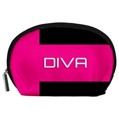 Diva Hot Pink Accessory Pouch (large)