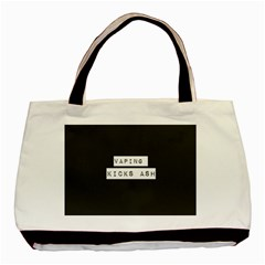 Vaping Kicks Ash Blk&wht  Classic Tote Bag