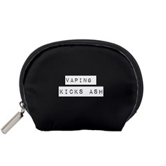 Vaping Kicks Ash Blk&wht  Accessory Pouch (small)