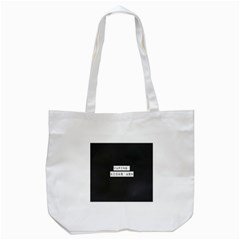 Vaping Kicks Ash Blk&wht  Tote Bag (White)