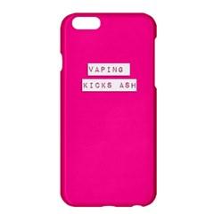 Vaping Kicks Ash Pink Apple iPhone 6 Plus Hardshell Case