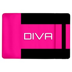 Diva Hot Pink Apple Ipad Air Flip Case