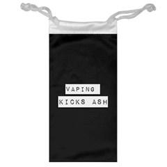 Vaping Kicks Ash Blk&wht  Jewelry Bag