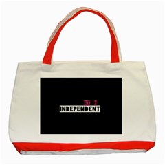 Independent Bit H Classic Tote Bag (Red)
