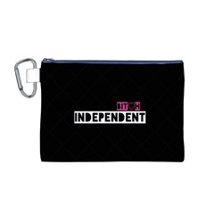 Independent Bit H Canvas Cosmetic Bag (medium)