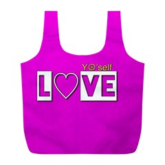 Love Yo self  Reusable Bag (l)