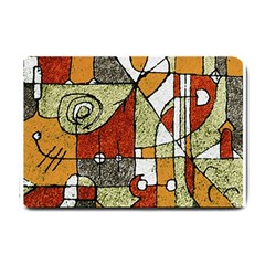 Multicolored Abstract Tribal Print Small Door Mat