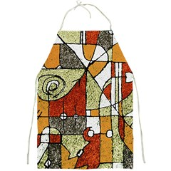 Multicolored Abstract Tribal Print Apron